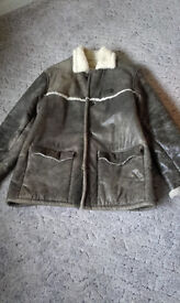 For Sale - Quiksilver Men's Leather Jacket
