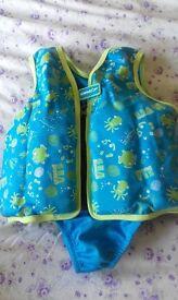 Baby zoggs swim jacket
