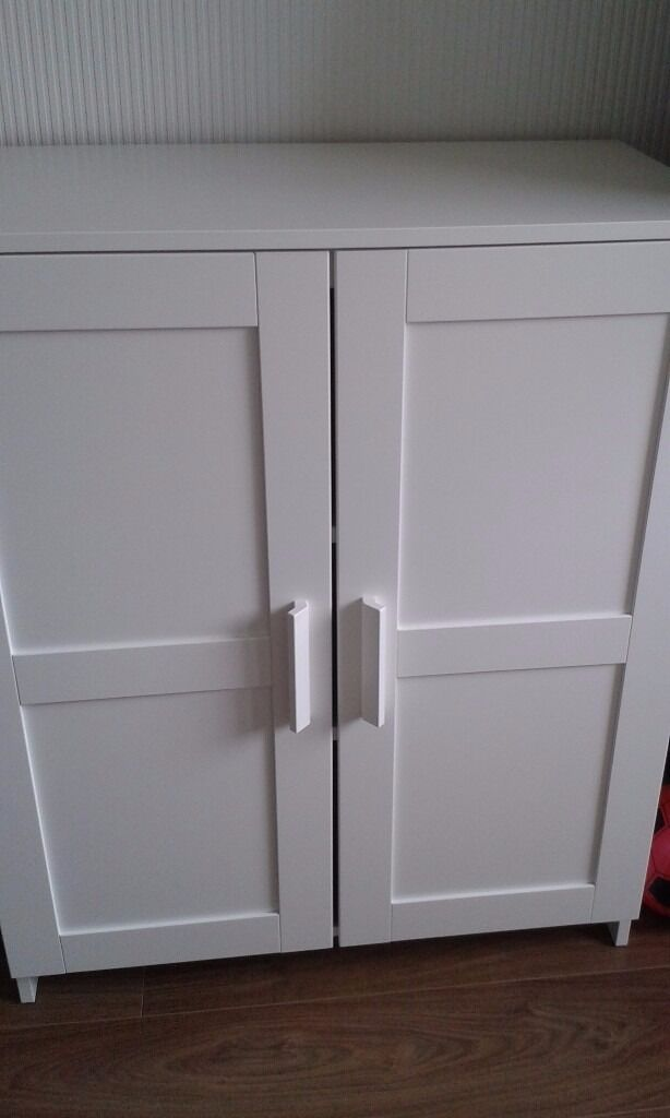 White Ikea 'Brimnes' sideboard cupboard | in Ely, Cardiff | Gumtree