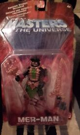 New Masters of the Univervers Mer-Man Figure