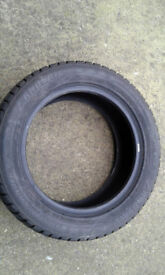 4 x Winter tyres, very good condition.