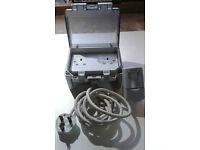 Waterproof Outdoor Switchbox - IP55 - 2 Gang with Powerbreaker