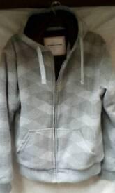 Mens Large hooded jumper