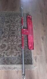 breakdown kit, towing pole, strap, jump leads
