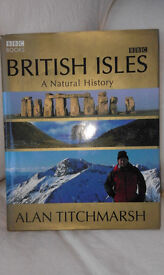 BBC publication hardback colour illustratin book of the British Isles by Alan Titchmarsh