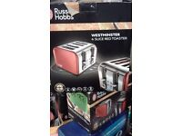 """BRAND NEW !!! Electric TOASTER """" Russell Hobbs """" WESTMINSTER"""