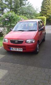 2005 Red Suzuki Alto