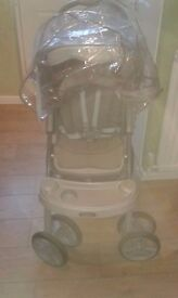 grey graco pushchair