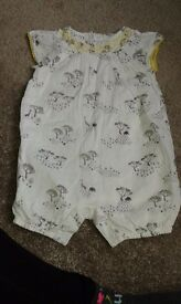 Marks and Spencer beautiful summer romper 3-6 months