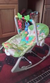 Vibrating rocking chair from Fisherprice
