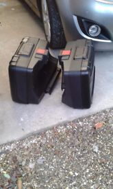 BMW F800gs or 700 /650 (twin) vario panniers and brackets