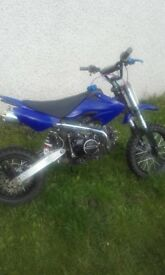 Off road motor bike