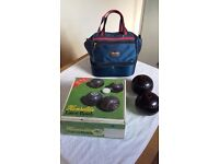 Henselite Bowls and Bowling Bag