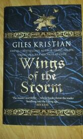 Wings of the Storm: (The Rise of Sigurd 3) by Giles Kristian (Hardback, 2016),