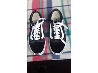 Pair of Vans Trainers Size 4