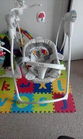 Gracco Musical baby indoor swing
