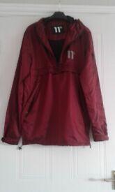 11 Degrees Men's Waterproof Hooded Jacket