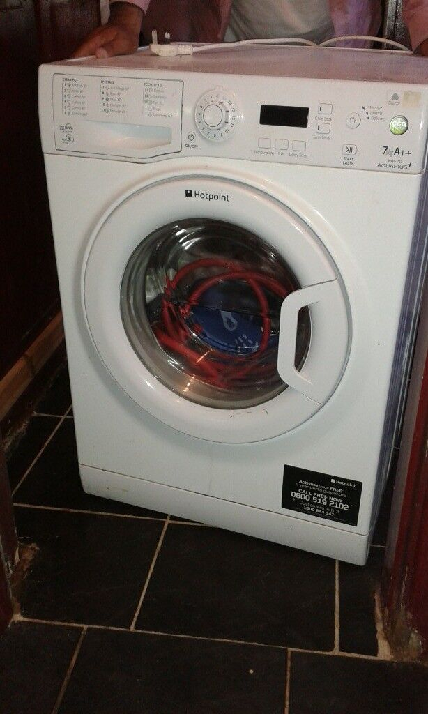 white hot point washing machine for sale
