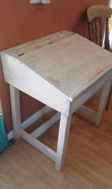 Pine school style Desk