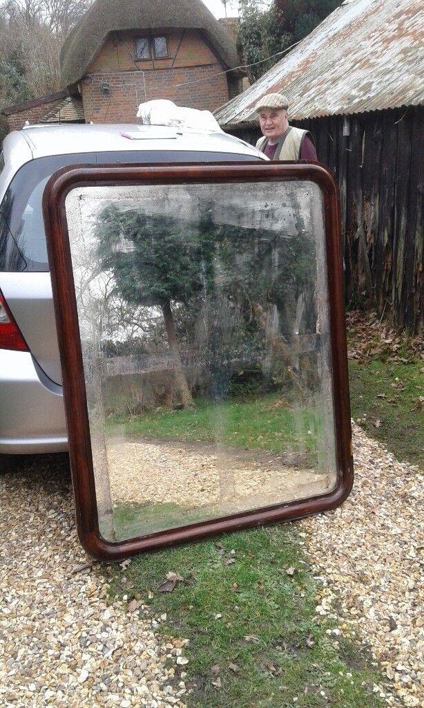 Victorian mirror - large