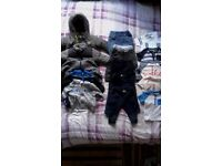 21 item 6-9 baby boy clothes including nike, jordan, hugo boss, debenhams .