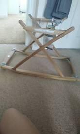 Silvercross wooden frame