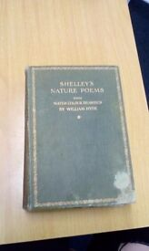 Shelly's nature poems with water colour drawings by William Hyde