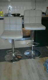 Two Bar Stools From Next
