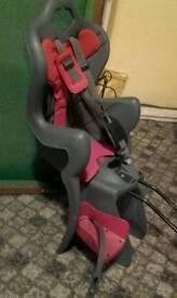 Toddler's bike seat