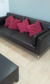 Ikea sofa with 4 cushion good condition