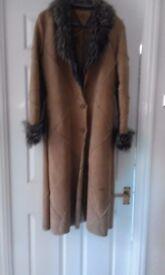 Ladies Full length coat Size 12