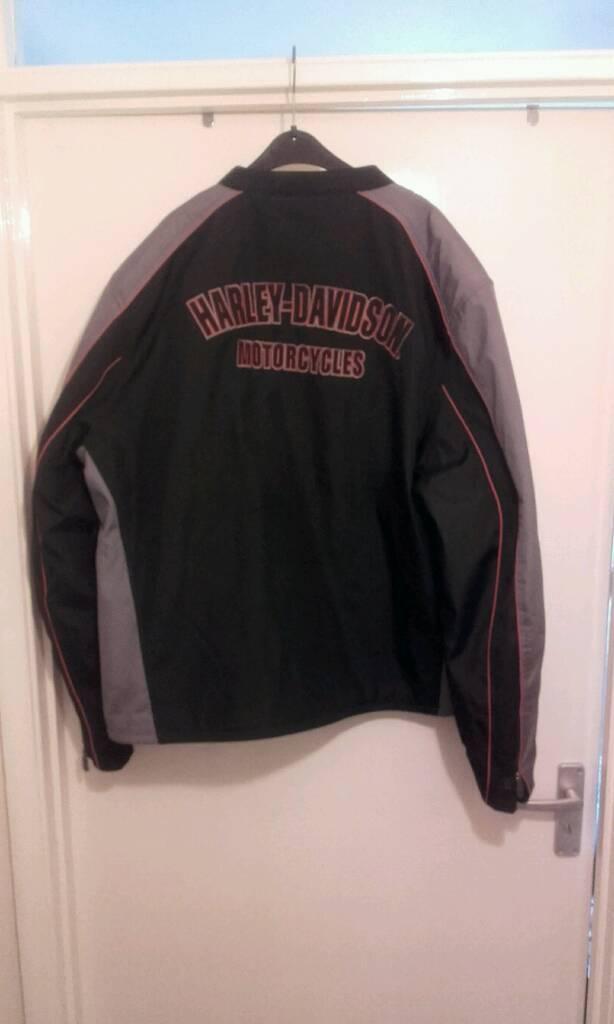 Harley davidson 2 xl motorcycle biker jacket coat