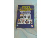 POLICE ACADEMY THE COMPLETE COLLECTION £8.00 NO OFFERS