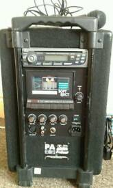 Pro Sound Portable Public Address System