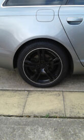 18'' VW audi- alloys with tyres