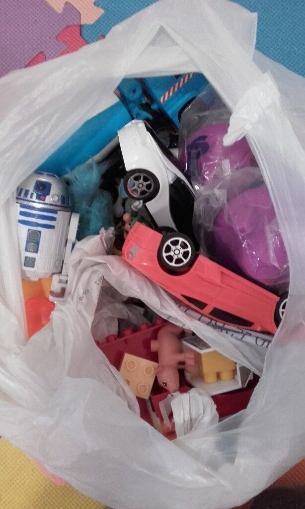 Bag of boys toys