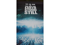 Original Cinema Banner: The Day The Earth Stood Still (Keanu Reeves) 8ft x 5ft