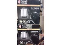 "BRAND NEW !!! Electric KETTLE "" Russell Hobbs "" 1.7L CAMBRIDGE"