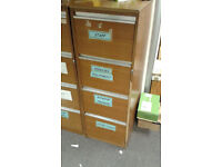 Filing Cabinet Wooden