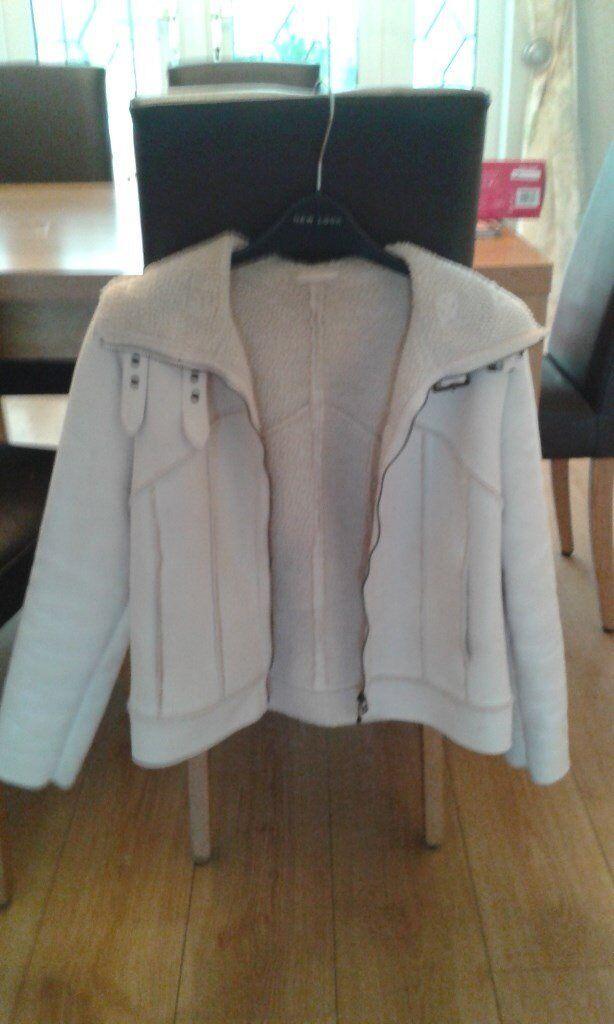 Ladies Next Suede Jacket Size 10.