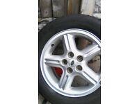 Range rover wheel and tyre