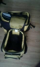Oxford lifetime luggage yellow