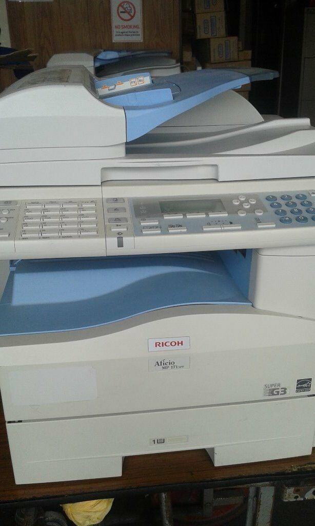 Ricoh A4 MP171 compact MFD  Copy/ Fax/Print & colour scan | in Barnet,  London | Gumtree