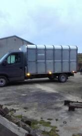 Handy wee cattle /horse lorry