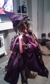 15 inch collectible witch