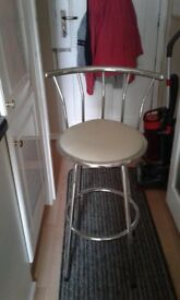 Nearly new bar stool
