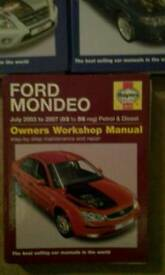 3 x Haynes workshop manuals