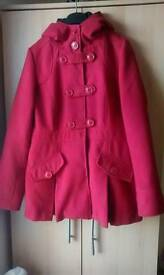 Womens Red International Jacket