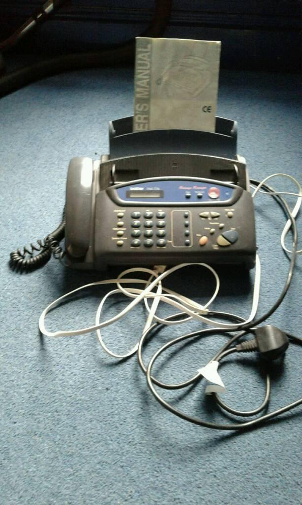 Phone fax machinein Stoneycroft, MerseysideGumtree - Phone fax machine in very good condition all works