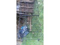 gates double, re-use or scrap metal